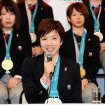 【オリンピック選手団帰国会見】主将・小平奈緒選手の言葉は「綺麗な花を咲かせられた」